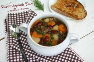 Rustic Vegetable Soup from www.everydaymaven.com
