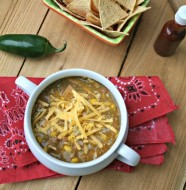 Turkey Tomatillo Soup from www.everydaymaven.com