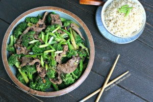 Beef and Broccoli with Black Bean Sauce