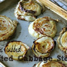 Martha Stewart Roasted Cabbage from www.everydaymaven.com