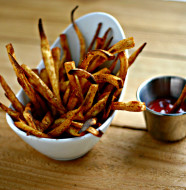 Old Bay Parsnip Fries