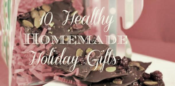 10 Healthy Homemade Holiday Gifts from www.everydaymaven.com