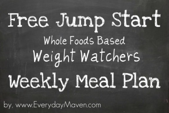 free weight watchers weekly meal plan. Black Bedroom Furniture Sets. Home Design Ideas