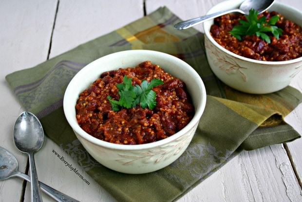 Weight Watchers Vegan Chili Recipe