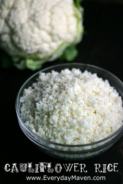 How to Make Cauliflower Rice by www.everydaymaven.com