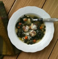 Skinny Italian Wedding Soup from www.everydaymaven.com