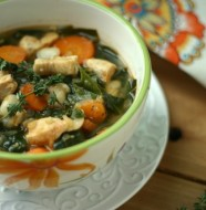 Quick Chicken Soup from www.everydaymaven.com