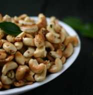 Thai Spiced Cashews from www.everydaymaven.com