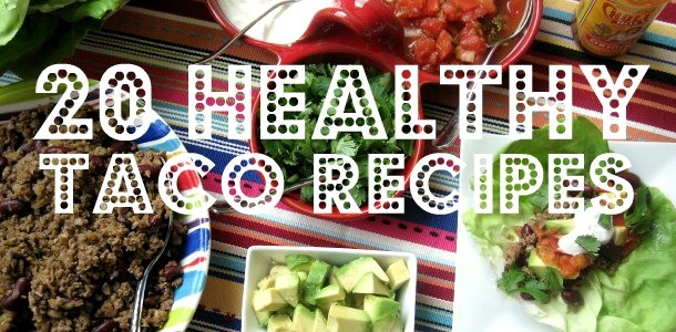 20 Healthy Taco Recipes from www.everydaymaven.com