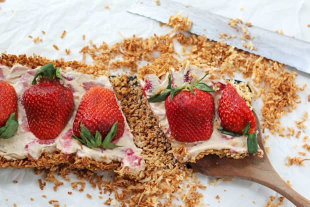 Grain Free Strawberry Tart from www.bluekaleroad.com