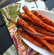 Weight Watchers Maple Glazed Carrots with Cardamom from www.EverydayMaven.com