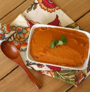 Roasted Sweet Potato and Carrot Mash from www.everydaymaven.com