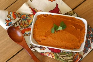 Roasted Sweet Potato + Carrot Mash