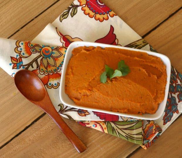 Roasted Sweet Potato + Carrot Mash