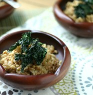 Farro Side Dish with Crispy Kale from www.everydaymaven.com