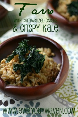 Farro Side Dish with Kale from www.everydaymaven.com