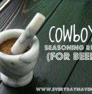 Cowboy Steak Rub from www.everydaymaven.com