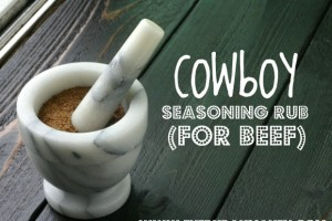 Cowboy Seasoning Rub {for Beef}