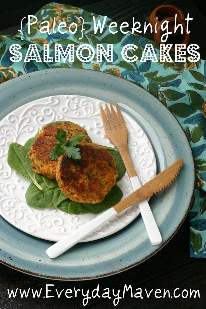 Paleo Salmon Cakes Recipe from www.everydaymaven.com