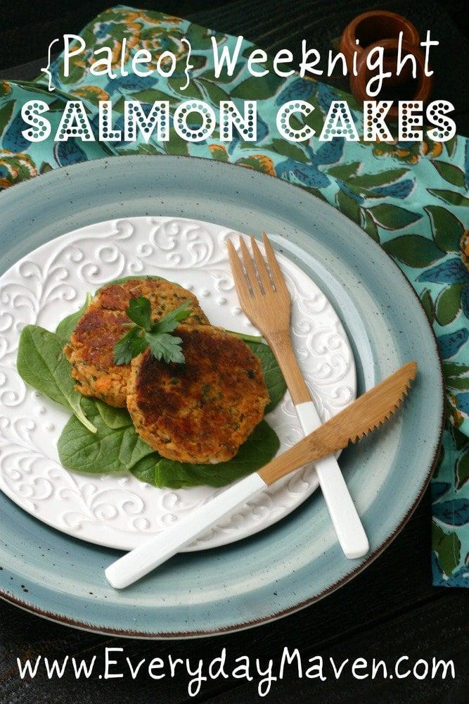 Paleo Salmon Cakes Recipe from www.everydaymaven.com