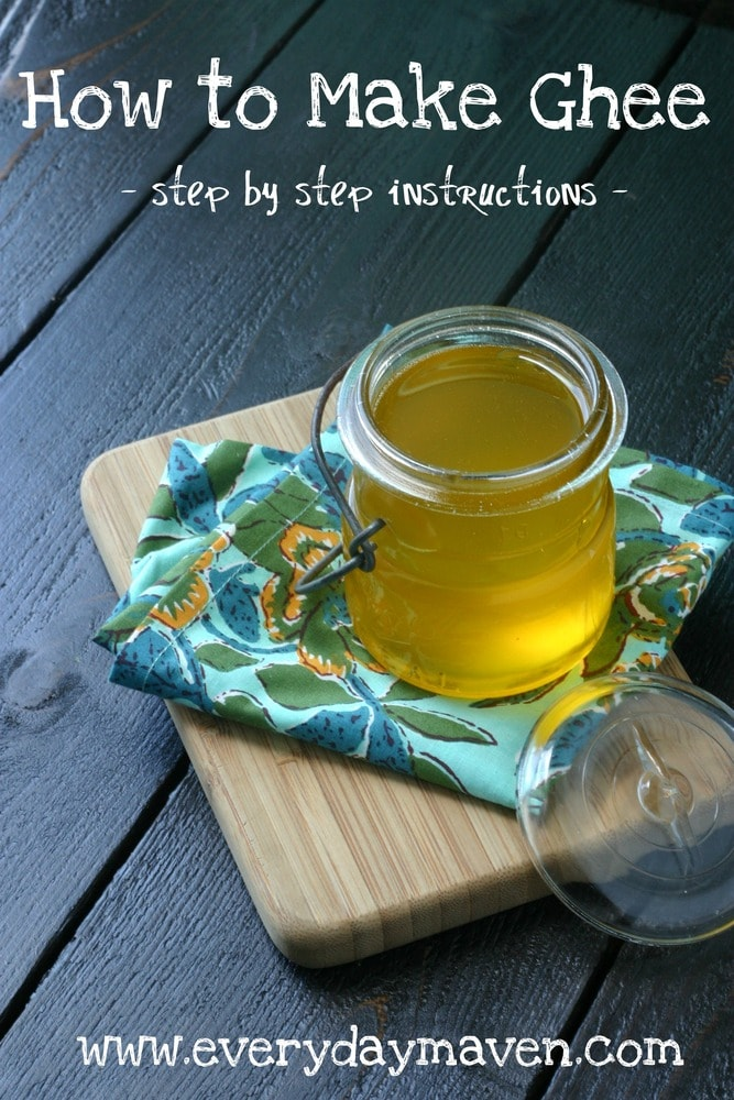 How to Make Ghee. Paleo. Whole 30 from www.everydaymaven.com