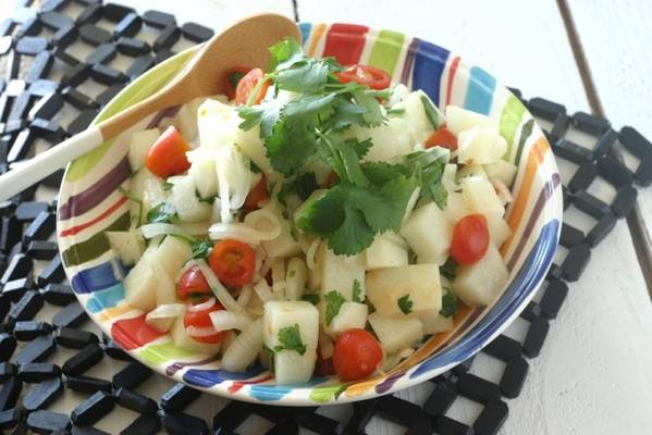 Herbed Jicama Salad from www.everydaymaven.com