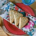 Paleo Almond Scones. Triple Almond Scones. Gluten Free. Grain Free from www.everydaymaven.com