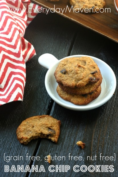 Nut Free Paleo Cookies from www.everydaymaven.com