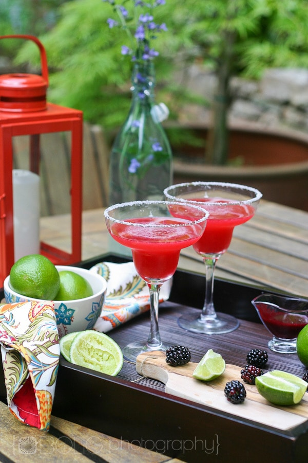 Blackberry Margaritas Recipe from www.everydaymaven.com