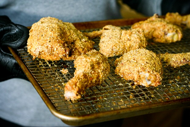 {Paleo} Oven-Fried Chicken