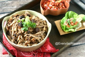 {Slow Cooker} Chili Pulled Pork Tacos
