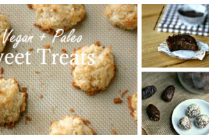Six Easy Vegan + Paleo Sweet Treats