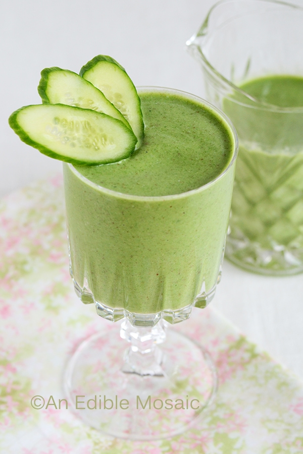 Sweet Green Goddess Smoothie from BLEND: Artisanal Smoothies For Food Lovers www.SimplyArtisanal.com