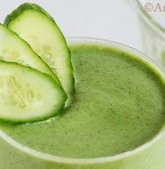 Green Goddess Smoothie. Vegan, Paleo, Gluten Free from BLEND www.simplyartisanal.com