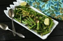 Sautéed Asparagus with Shallot + Lemon from www.everydaymaven.com