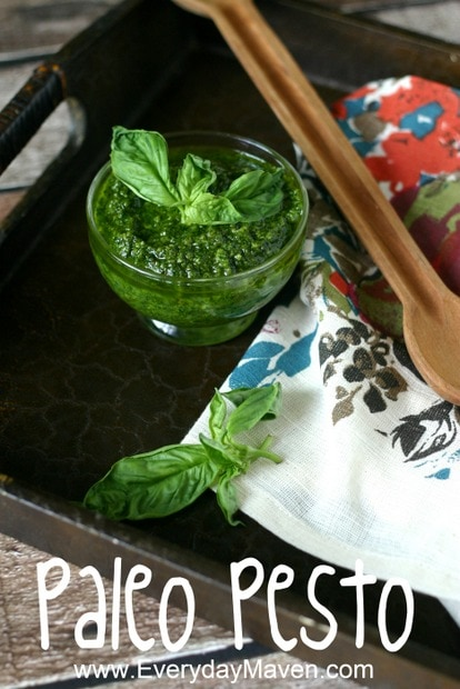 Paleo Pesto Recipe from www.everydaymaven.com