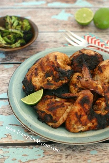 Peruvian Grilled Chicken Recipe from www.everydaymaven.com