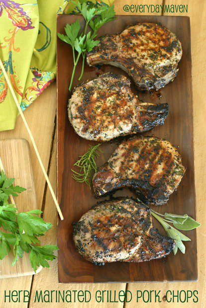 Herb Marinated Pork Chops Recipe Paleo Grilled From