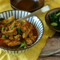 Paleo Chicken Curry. Chicken, Tomato and Green Bean Curry from www.everydaymaven.com