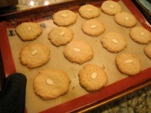 Vegan Almond Cookies from www.everydaymaven.com