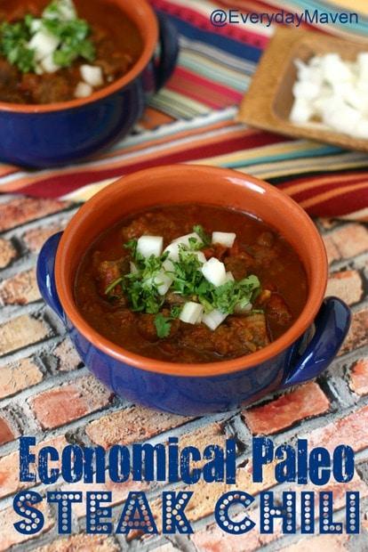 Paleo Steak Chili Recipe from www.everydaymaven.com