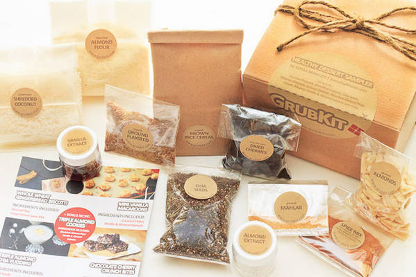 EverydayMaven Healthy Dessert Sampler GrubKit