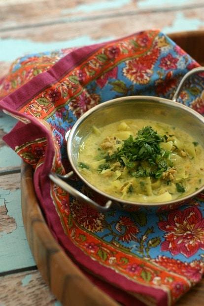 Punjabi Style Chicken Soup