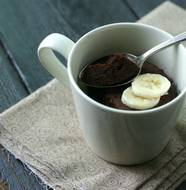 Paleo Chocolate Mug Cake from www.everydaymaven.com