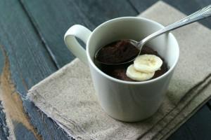 Chocolate Mug Cake {Paleo}