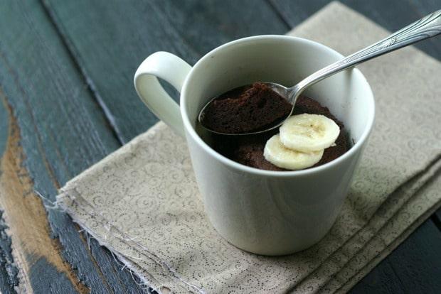 Paleo Chocolate Mug Cake from www.everydaymaven.com