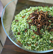 Vegetarian Shredded Brussels Sprouts from www.everydaymaven.com