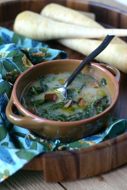 Creamy Parsnip Soup from www.everydaymaven.com