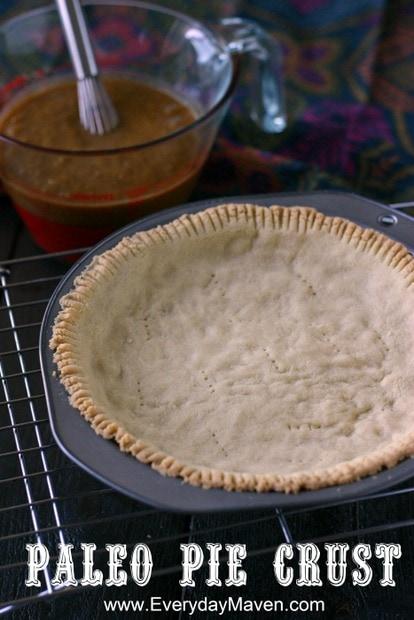 Paleo Pie Crust from www.everydaymaven.com