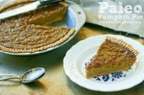 Paleo Pumpkin Pie from www.everydaymaven.com
